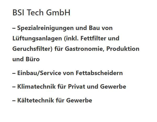 Reinigung Lüftungsanlagen für  Ludwigsburg